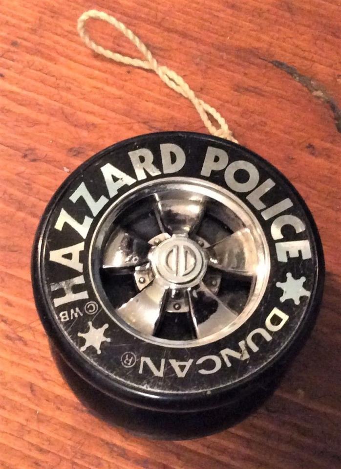 Hazzard Police Duncan Yo-Yo The Dukes Of Hazzard Wheel YoYo  1980's