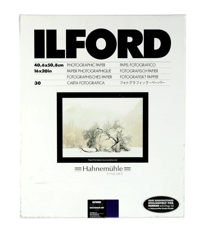 Ilford Multigrade Art 300 Paper (16 x 20in, 30 Sheets)