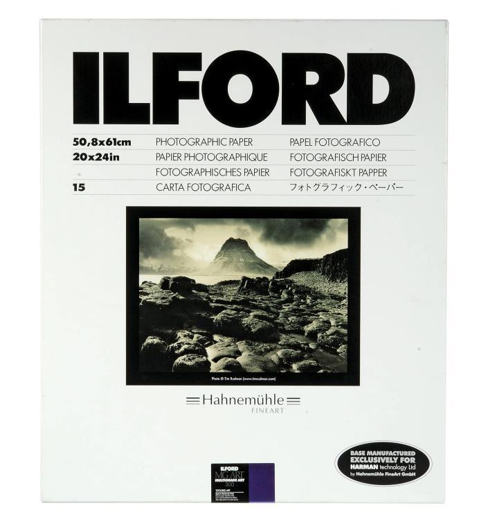 Ilford Multigrade Art 300 Paper (20 x 24in, 15 Sheets)