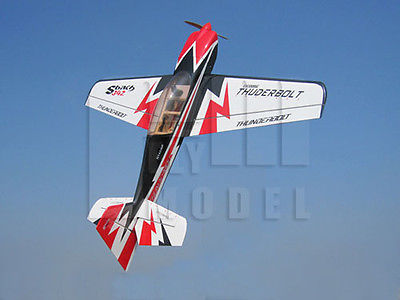 SBACH 342 - 70 Gas RC Plane ARF (Black) (XY-286)