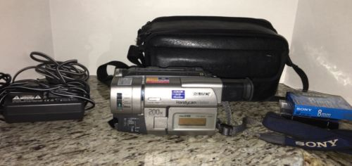 Sony Handycam CCD-TRV37 8mm Video8 HI8 HI 8 Camcorder VCR Player Video Transfer