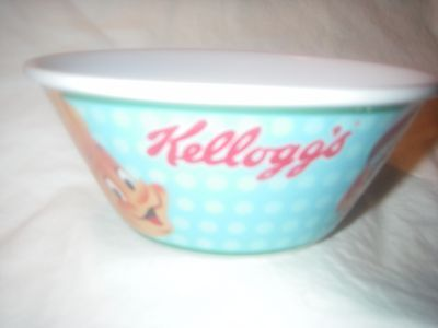 KELLOGG'S RICE KRISPIES SNAP CRACKLE POP PLASTIC CEREAL BOWL