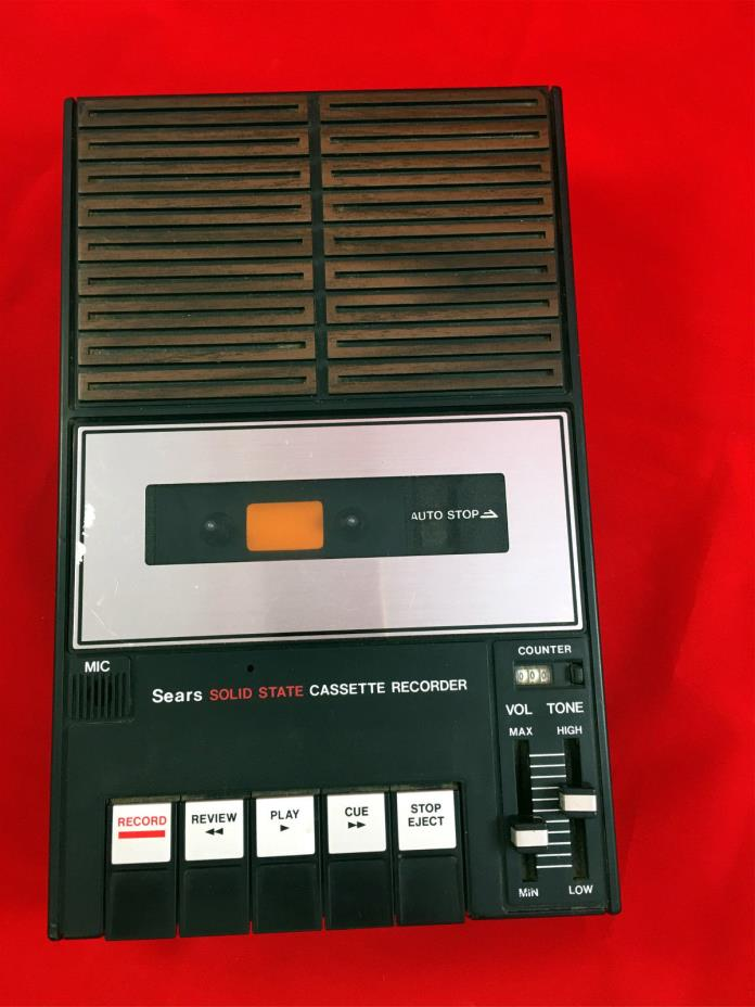 Sears Cassette Player For Sale Classifieds