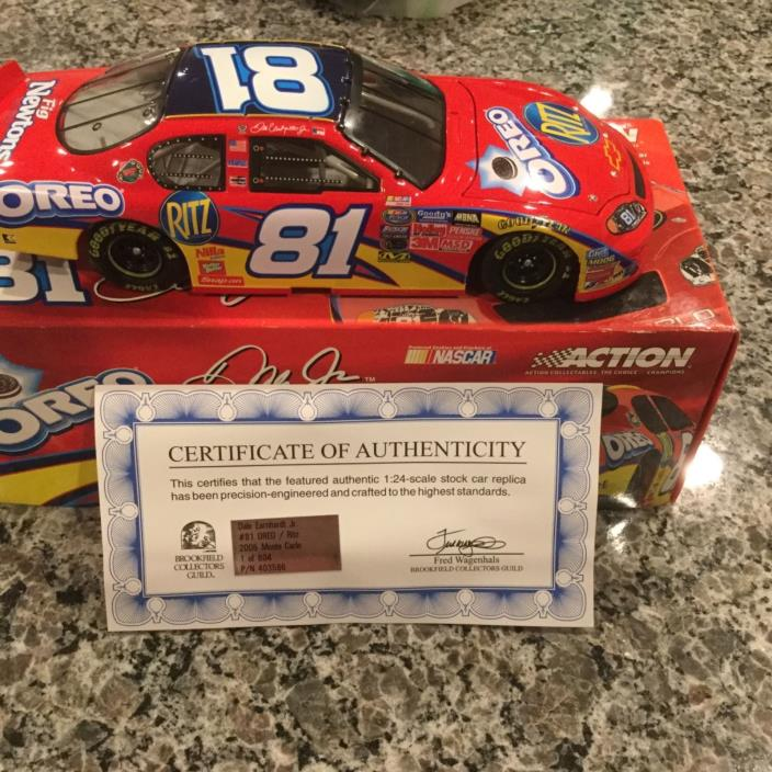 1:24 Action #81 Oreo/Ritz Dale Jr Diecast - Brookfield Collectors Guild