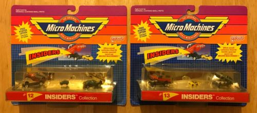 Micro Machines Insiders, Micro Machines Lot of 2,  Micro Machines Mini RARE