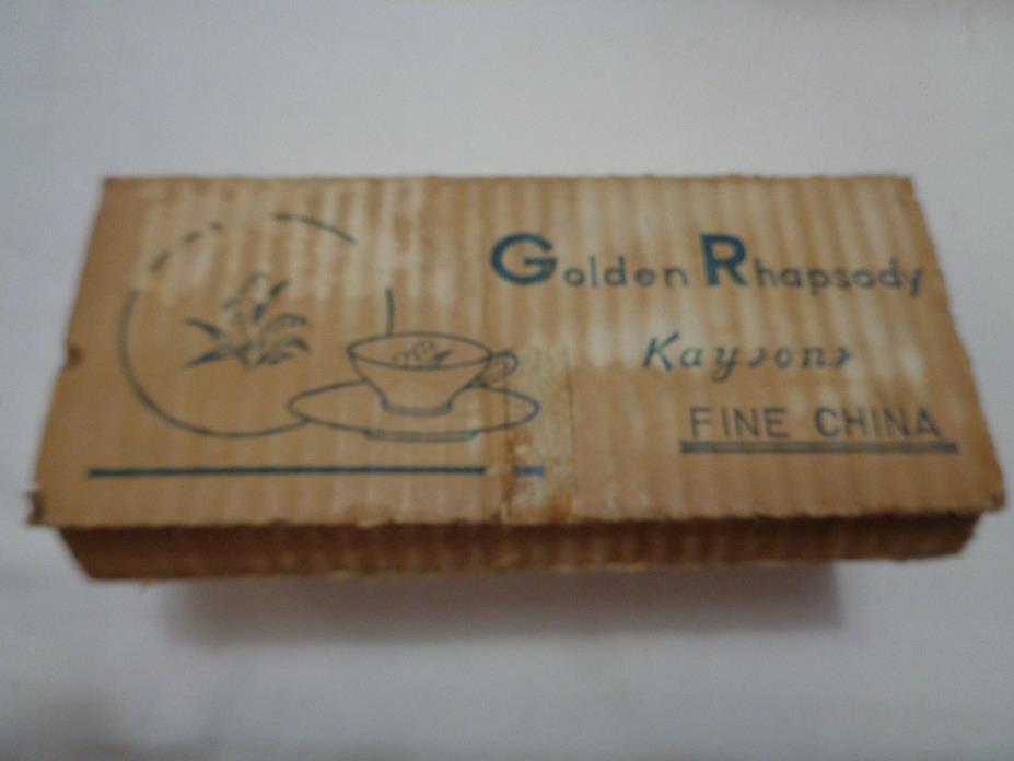 VINTAGE KAYSONS GOLDEN RHAPSODY SALT & PEPPER SHAKERS 2 Sets