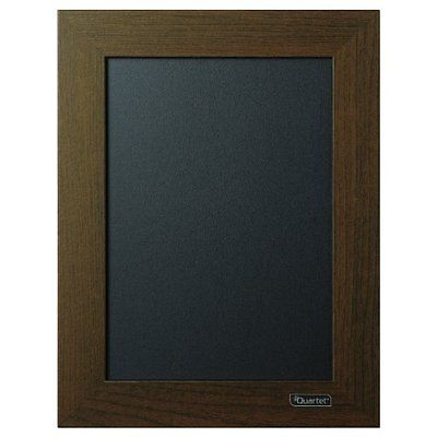 Chalkboards Quartet Chalkboard, 8.5 x 11 Inches, Wood Finish Frame (80214)