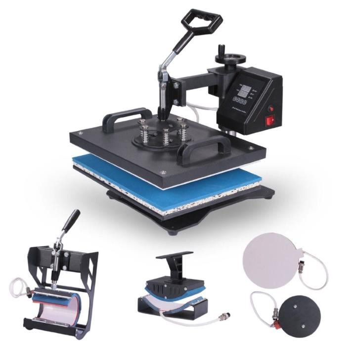 Digital swing away 5 in 1 Heat Press