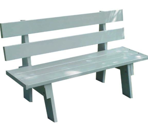 Park Bench Commercial Vinyl Kit Plastic Outdoor Benches For Sale Yard Patio