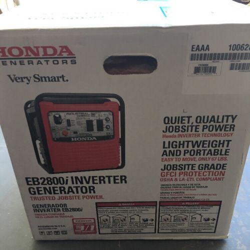 Honda EB2800i 2500W 20 Amp Inverter Generator 661082 New