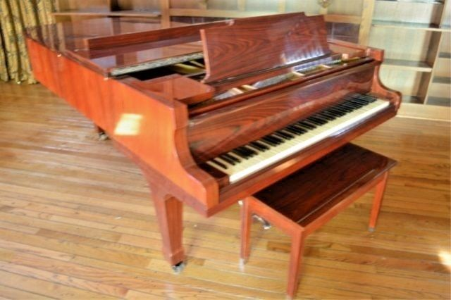 KAWAI KG-6C CONCERT GRAND PIANO With Yamaha Style Bench 7ft 4 inch GRAND!