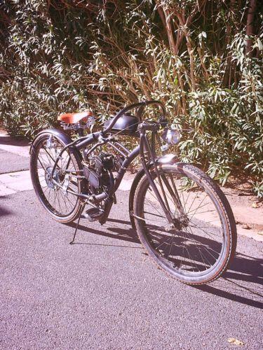 80cc Motorized Bicycle, Retro Cruiser Bike.