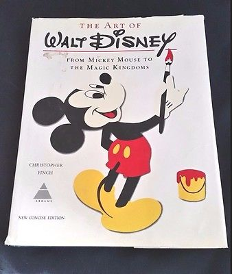 The Art of Walt Disney by Christopher Finch New Concise Edition (1975)