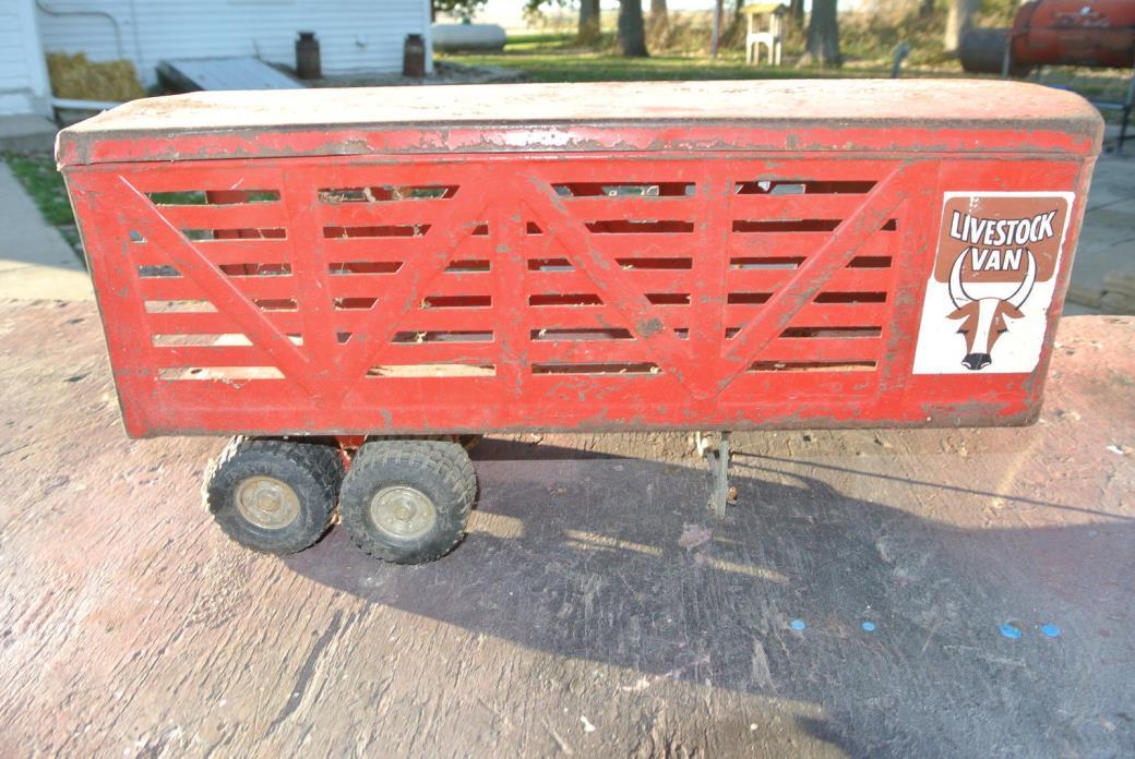 Vintage Ertl Livestock Van