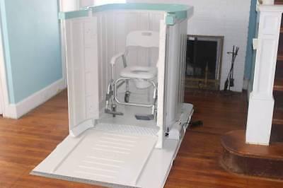 Shower Bay Handicap Wheelchair Portable Shower