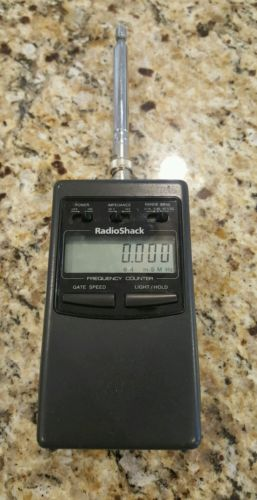 Radio Shack Frequency Counter : Radio frequency counter for sale classifieds