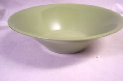 VINTAGE TEXAS WARE BOWL MELMAC LARGE GREEN SALAD SERVING BOWL