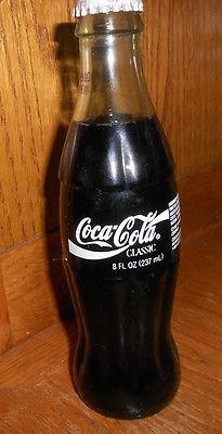 MAKE OFFER 1993 Full Coke Bottle. Coca Cola Bottle New 8oz