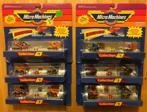 Micro Machines Insiders, Micro Machines Lot of Six (6),  Micro Machines Mini