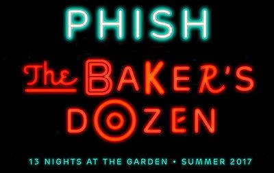 1 or 2 PHISH Sec 103 -  8/5/17  PTBM Baker's Dozen Ticket(s)! Phish
