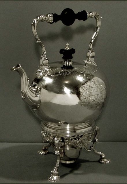 English Sterling Teapot     COLLECTION                              1731