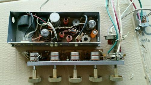 Vintage General Electric Tube Stereo Amplifier Amp 12au7 GE Guitar