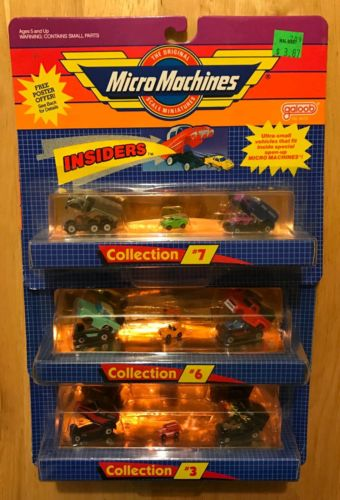 Micro Machines Insiders, Micro Machines Lot of (3), Micro Machines Collection