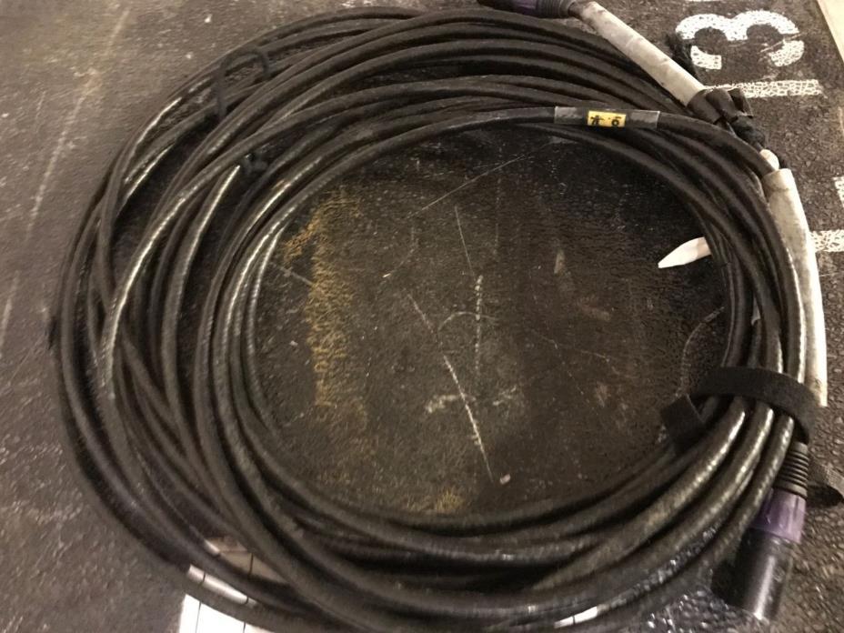 DMX 5pin LOT (3) 50' cables