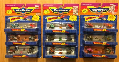 Micro Machines Insiders Lot, Micro Machines Lot of Nine (9), Micro Machines Mini