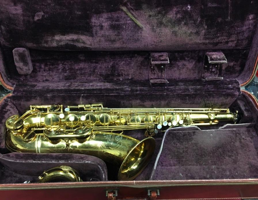Selmer Mark VI Tenor Saxophone 1956 SN#67049 w/ Varitone Amp and Pickups