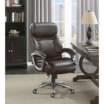 La-Z-Boy Martin Oversized Big & Tall Executive Office Chair w/Plush Pillow Top
