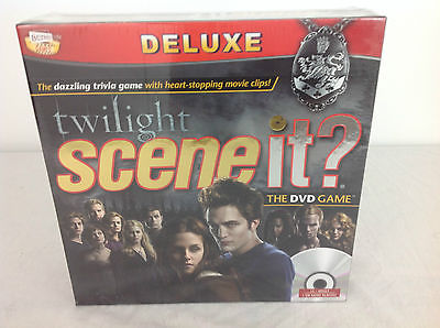Twilight Scene It? The DVD Game - BRAND NEW SEALED