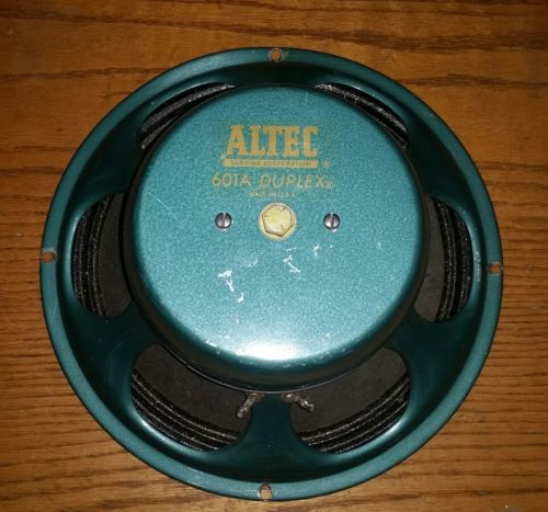 Vintage Altec Speakers - For Sale Classifieds