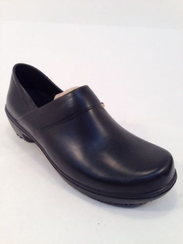 Shoes For Crews Women's Black Rubber Non Slip Lightweight Work Shoes US Size 7.5