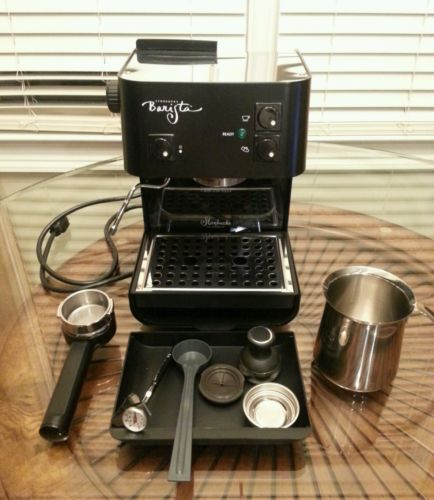 Starbucks Barista Aroma Coffee Maker Manual : Starbucks Barista Espresso Maker - For Sale Classifieds