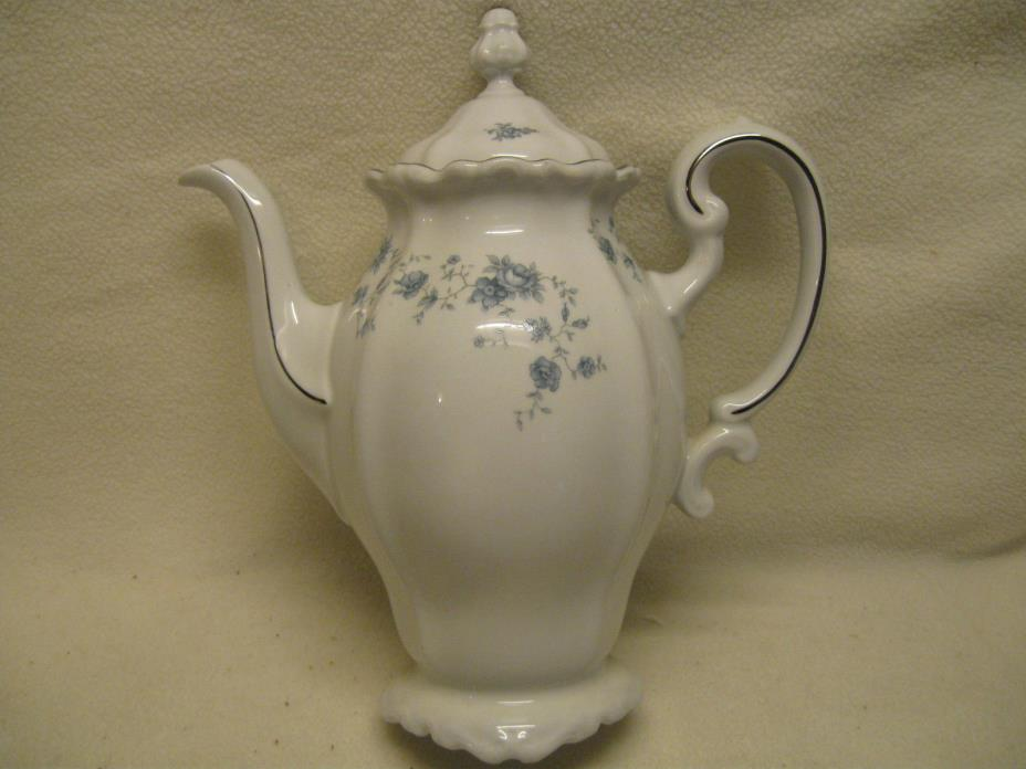 Johann Haviland Blue Garland Coffee Pot Excellent Condition
