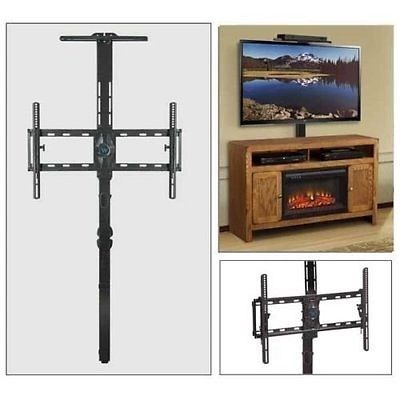 Flat Panel Gaming Theater Floater TV Mount w/ Senor & Sound Shelf