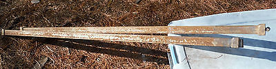 Set of Two rare Antique Seam Pin Bed Rails For Your Vintage Old Beds SP126