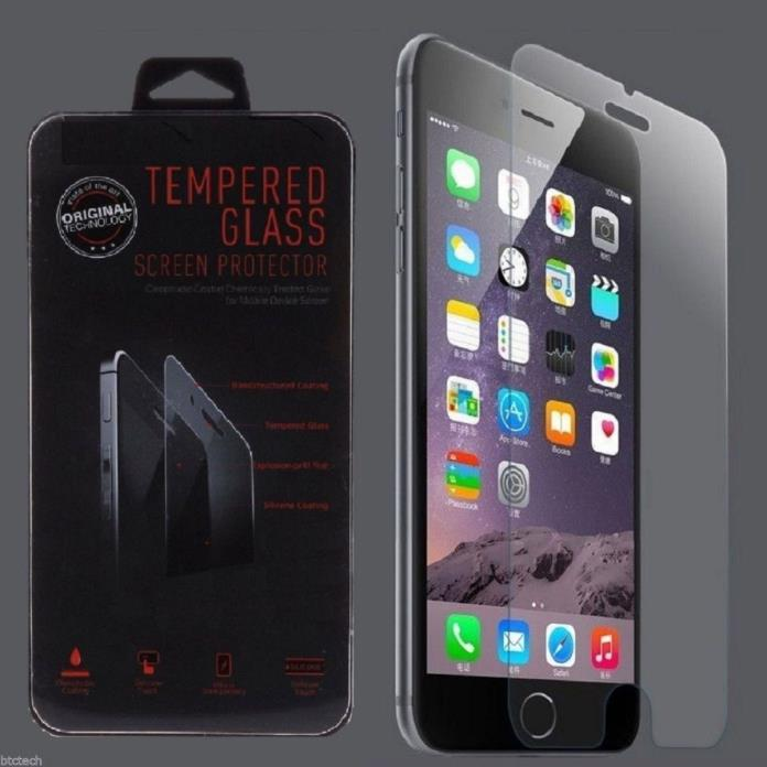 Wholesale  Tempered Glass Film Screen Protector for  iPhone 6/6s=10