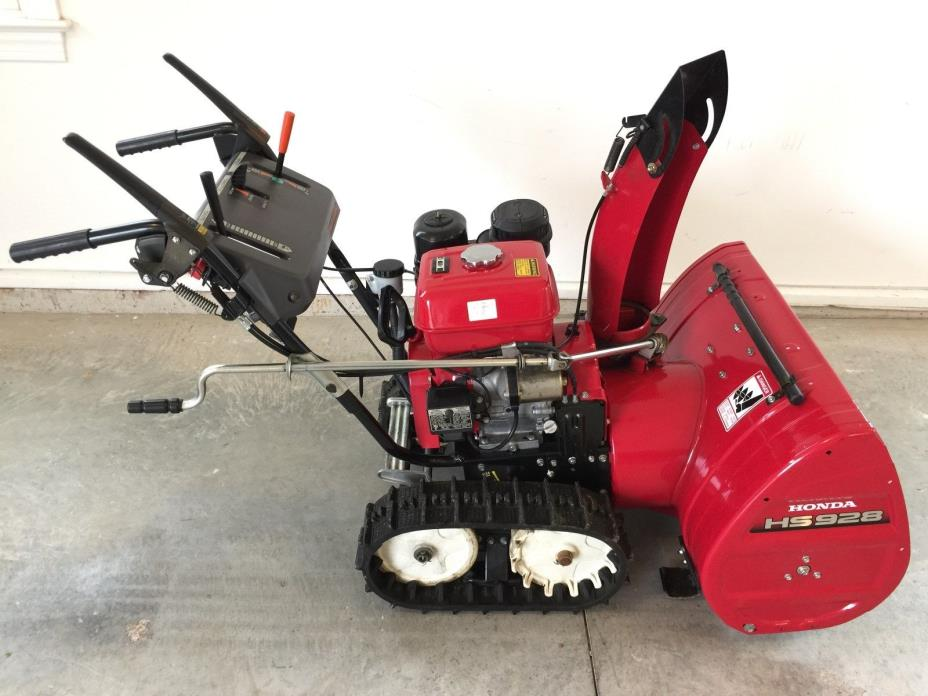 HONDA HS928TAS SNOWBLOWER, 28