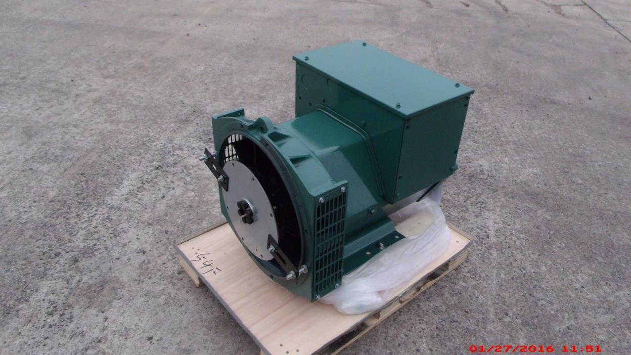 Generator Alternator Head CGG184E 21KW 1 Ph SAE 4 / 8 120/240 Volt Industrial