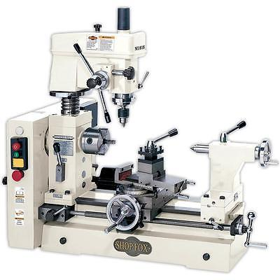 Shop Fox M1018—Small Combo Lathe / Mill - Free Shipping