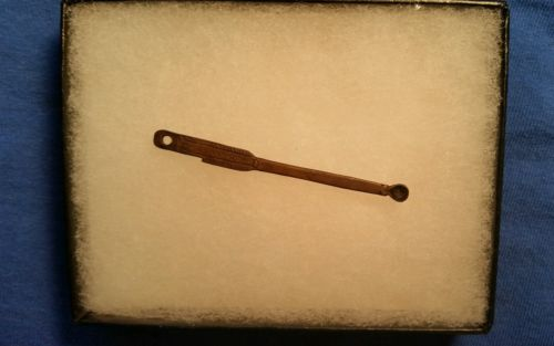 Early Spanish Ear Spoon Artifact, Circ 1600-1700s