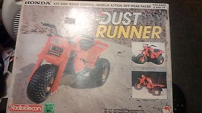 Honda ATC250R 1/8 scale Vintage Radio Elecon Shinsei Dust Runner Tricycle