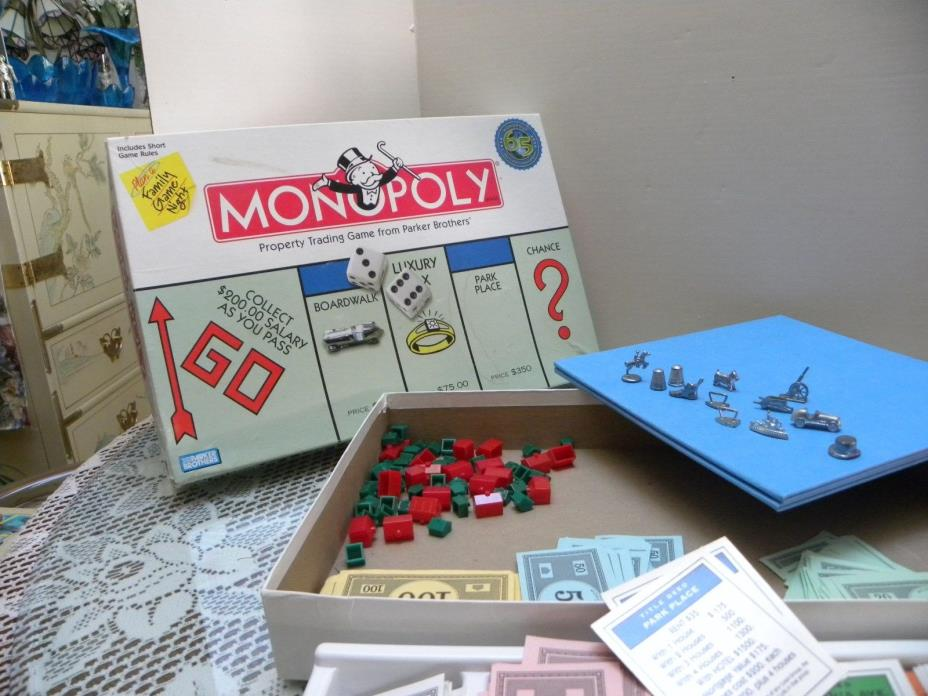 Monopoly Game Values - Old & New - The Fun Of The Hunt!