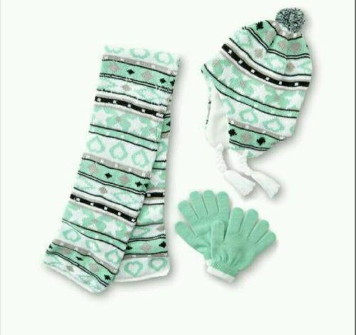 Athletech Girl's Hat Scarf & Gloves