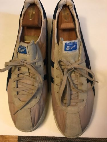 Onitsuka Tiger 8697 Mens Corsair Vintage Beige Fashion Sneakers 14 Medium (D)