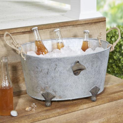Birch Lane Kilgetty Galvanized Beverage Tub