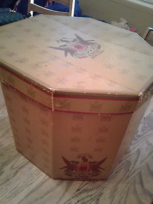 vintage Knox New York multihat Hat Box