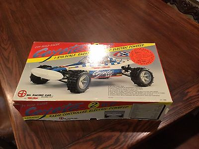 Vintage NOS Coyote RC Car MISB  SG Racing Car.